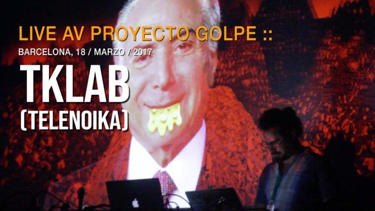 Proyecto Golpe :: TKLAB :: LPM AMSTERDAM 2017 :: Telenoika