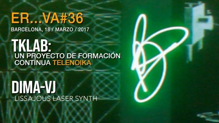 TKLAB – DIMA VJ :: Lissajous Laser Synt