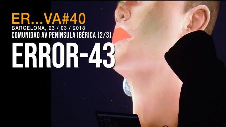 Error 43