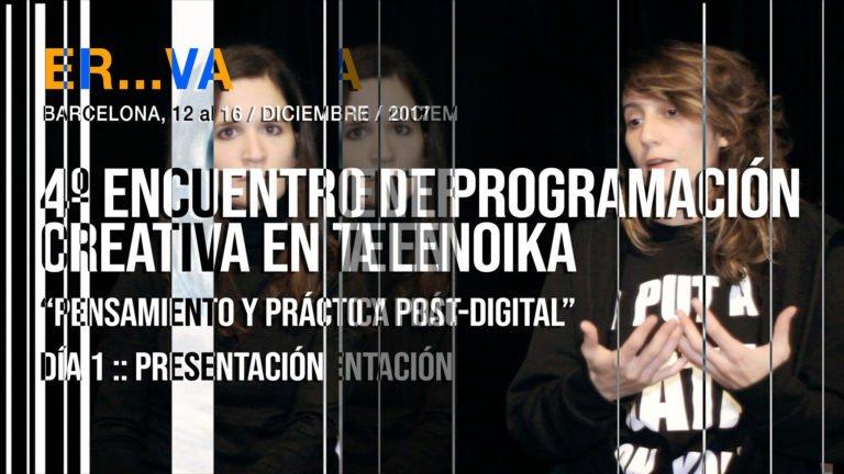 4º Encuentro de programación creativa en Telenoika