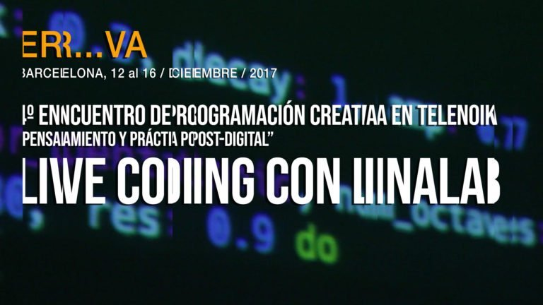 Live Coding con Linalab