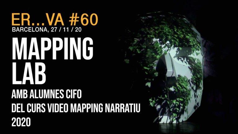 """MAPPING LAB AMB ALUMNES CIFO DEL CURS """"VIDEO MAPPING NARRATIU"""" 2020"""